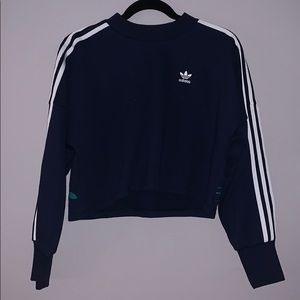 Adidas cropped hoodie~ size XS